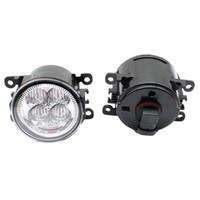 feux de brouillard acura achat en gros de-Feux antibrouillard LED haute luminosité pour feux de brouillard avant feux DRL feux de route 1set pour Acura ILX berline 4 portes 2010-2011 2012 2013 2014