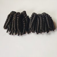 Wholesale remy curly hair price resale online - Factory price Brazilian Peruvian virgin kinky Curly funmi Hair weft Unprocessed Malaysian Indian remy Hair Weave Welcome to consultation