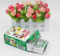 Wholesale fuji camera wholesale for sale - Most popular Fujifilm Instax Mini film for Fuji Instax Mini s Instant Photo Camera Share SP SP White Film