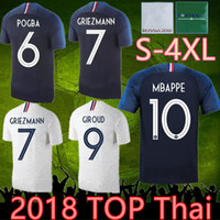 Wholesale soccer jersey france resale online - 4xl France star jersey france soccer jerseys HENRY mbappe GIROUD kante maillot de foot ZIDANE football shirts