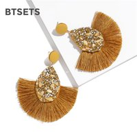 Wholesale bridal earings for sale - Group buy Colorful Crystal Fashion Tassel Earrings For Women Statement Charm Earings Fashion Jewelry Wedding Bridal Fringe