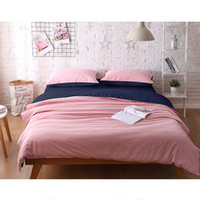 Wholesale hot pink queen size bedding resale online - Bed Sheet with Pillowcase Sheet With Linen Polyester Mattress Covers Queen Size New Coming Hot Selling Bed Linens