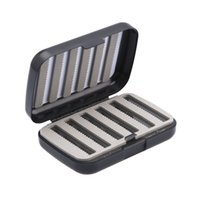Wholesale sell fishing lures for sale - Group buy Hot selling Waterproof Hook Box A B Fishing Case With Slit Foam Fishing Lure Hooks Bait Tackle Boxes hotB