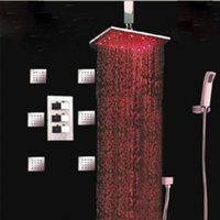 chorros de ducha de masaje corporal al por mayor-Al por mayor y al por menor Promoción grande lluvia 16