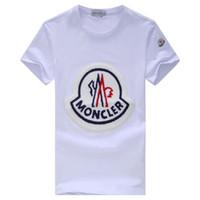 i̇ngiliz geçici toptan satış-MT Yeni moda casual Mon Marka erkek T-shirt yaz T-shirt İngiliz Fransız kısa kollu erkek T-shirt Hommes kayma