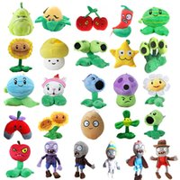 Wholesale zombie toy dolls for sale - Group buy 20 Styles Plants vs Zombies Plush Toys cm Plants vs Zombies Soft Stuffed Plush Toys Doll Baby Toy for Kids Gifts Party Toys