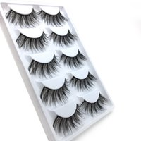 Wholesale long synthetic hair braid for sale - Group buy WZ04 False EyeLashes Pairs D Natural Long Fake Eyelashes Crossed mesh braided false eyelashes
