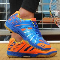 Wholesale ladies badminton shoes for sale - Group buy Men Sneakers Shoes Outdoor Sports Breathable Ladies Sneakers Male Training Non slip High Quality Tennis Female Badminton Shoes