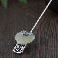 kelebek zanaat gümüşü toptan satış-Vintage Zanaat S925 Gümüş kadın Kakma ve Tianyu Kelebek Akrep El Yapımı Gümüş Stil Hediye Ücretsiz Kargo