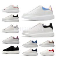 la mejor marca de zapatillas para hombre. al por mayor-alexander mcqueen diseño para hombres y mujeres de cuero de moda de gran tamaño plataforma Alexander aumentar mcqueens zapatos casuales para hombre zapatillas de deporte de calidad