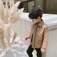 Wholesale brown baby coat for sale - Group buy 3 colors Children Jackets Boys girls Winter down coat Baby Winter fashion Clothes Kids warm outerwear Hooded Coat