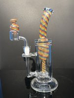 Wholesale cigar water pipe resale online - ggHeady Big Beaker Oil Rig Bongs Beaker Cheap Water Glass Bong Smoking Pipes Hot Cigar Tobacco High Quality Factory Direct Sold