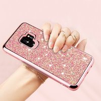 Wholesale cell phone cases for galaxy note for sale – best Sublimation Cell Phone Case For Samsung S8 s9 s10 note note plus Quicksand bing bing case
