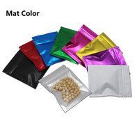 Wholesale lock nuts for sale - Group buy 9 Colors x10 cm Pieces Reclosable Mylar Foil Smell Proof Food Storage Bag Tear Notches Aluminum Foil Zip Lock Packaging Bags for Nut