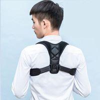 ingrosso cinture di supporto per il dolore alla schiena-Spalla nuovo correttore di posizione posteriore della cinghia di sostegno benda parte posteriore del corsetto ortopedico della colonna vertebrale del correttore di posizione di rilievo di dolore