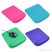 Wholesale wrist rest support resale online - Nice Thicken Soft Sponge Wrist Rests Support Mouse For Optical Trackball Mat Mice Pads Computer Durable Comfort Mouse Mat