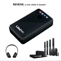 ingrosso ricevitore vocale-Wireless Bluetooth versione 4.1 3.5mm Audio Transmitter Receiver NFC Chiamata vocale Dual Audio Port Audio Adattatore APT-X per cuffie TV per auto
