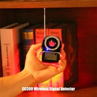Wholesale wireless gps detector resale online - CC309 Wireless Signal Bug Detector Portable Anti Candid Camera Privacy Protector GPS Finder Tracker Protect Security Dropshipp