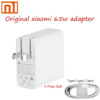 Wholesale voltage computer resale online - Original xiaomi w USB C power adapter routing home fast charge charging mobile computer charger portable type c interface