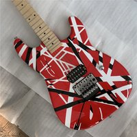 Wholesale guitar relics for sale - Group buy High Quality Electric Guitar Eddie Van Halen Best quality Guitars aged relic st upgraded quality hardwares shipped quick