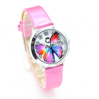 Wholesale glasses watch for children for sale - Group buy New Fashion butterfly desgin Brand Children Quartz Watch Kids Watches For Boys Girls Students Cute WristWatches Casual Relogio