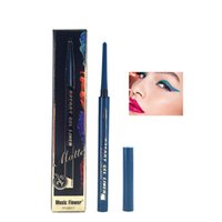 хороший подводка для глаз оптовых-8 Colors Liquid Eyeliner Long-lasting Waterproof Eye Liner Pencil Pen Nice Lady Beauty  Cosmetic Beauty Tools New 2019