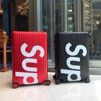 equipaje de aluminio al por mayor-maleta bolsas de equipaje troncos de 20/22/26/28 aleación de aluminio con el hombre de San Valentín regalo de Navidad para Año Nuevo
