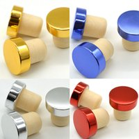 Wholesale wine corking tool for sale - Group buy T shape Wine Stopper Silicone Plug Cork Bottle Stopper Red Wine Cork Bottle Plug Bar Tool Sealing Cap Corks For Beer RRA2838
