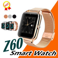 Wholesale best rated phones online – Best Bluetooth Smart Watch Phone Z60 Stainless Steel Support SIM TF Card Camera Fitness Tracker GT08 GT09 DZ09 Smartwatch for IOS Android