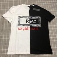 camisas de cuello blanco para hombres al por mayor-Camiseta de manga corta de los hombres del verano Cuello redondo Camisa de algodón Camiseta delgada blanca de la tendencia M-XXXL Tamaño grande