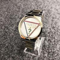 relojes de lujo aaa al por mayor-Cuero de lujo de la marca del reloj W114 mecánicos relojes de cuarzo relojes para mujer para hombre de la banda de acero Parejas de piel watchs CalidadAAAADIVINAR