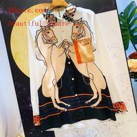 lycra kleidet mode lange großhandel-Sommer kleidet zweiteilige Ausstattungen der Trainingsanzugfrauen Art und Weisedruck-langärmliges T-Shirt + Maxi des hohen Taillenfaltenrockes kleidet Frauenkleidung vh1