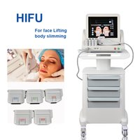 Wholesale best face slimming machine for sale - Group buy Best selling portable hifu machine hifu slimming Face and Body beauty hifu liposonix machine Non invasive Anti Aging Equipment