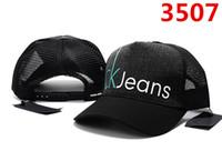 sombreros de jeans al por mayor-2019 Jeans Gorras de bola Primavera Otoño Unisex Snapback Gorros de béisbol para Hombre mujer Moda hueso casquette nuevo diseño gorras Golf Deporte sol sombrero