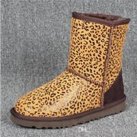 marcas de botas de australia al por mayor-Botas de nieve de Australia para mujer de alta calidad Impermeables estilo australiano Botas cortas de invierno cálido al aire libre Marca Ivg Unisex Tamaño US3-14