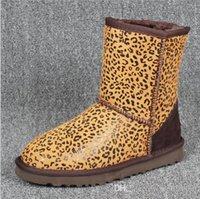 avustralya çizmeler markalar toptan satış-Yüksek Kaliteli Avustralya Kadınlar Kar Botları Su Geçirmez Avustralya Tarzı Sıcak Kış Açık Kısa Çizmeler Marka Ivg Unisex Boyutu US3-14