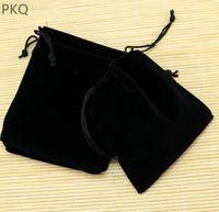 дешевые королевские синие пkers for windows оптовых-5*7 см небольшой мешок ювелирных изделий бархат сумка для монет / серьги шнурок подарочная сумка партия упаковка поставок свадебные сумки для кольца 10 шт.