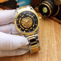 fábrica de relógios de luxo mens venda por atacado-2019 Nova marca Royal Homens automática Designer relógio de pulso de luxo Mulher relógios mens fábrica Relógios de pulso Moda Feminina subiu relógio de ouro