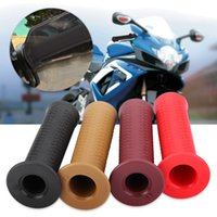 Wholesale motorcycle handlebars rubber for sale - Group buy 1 Pair of mm Inch Motorcycle Modified Scaly Rubber Handlebar Decorative Hand Grips Colors Left Right Hand Grip