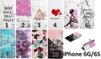 Wholesale iphone plus case for girl 3d online – custom 3D Bling Wallet Leather Case For Iphone XR XS Max X S Plus Samsung Galaxy S6 S7 Edge S8 S9 Flower Marble Girl Cover