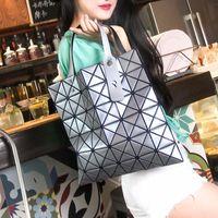 ingrosso borse della signora giapponese-Nuova borsa da donna con tracolla pieghevole a forma geometrica rombica geometrica femminile giapponese
