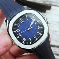 Wholesale white ceramic automatic mens watches resale online - 2019 Wristwatches Aquanaut Automatic Movement Stainless Steels Comfortable Rubber Strap Original Clasp Mens Watch Luxury Watches BDFL