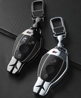 ingrosso chip 4d63-Car Key Fob di caso della copertura della protezione adatto per E Classe C W204 W212 W176 GLC CLA GLA Accessori auto