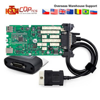Wholesale car diagnostic scanner cdp for sale - CDP TCS cdp Pro Bluetooth R3 Keygen R1 free activate A Single Green board cars Trucks OBD2 scanner Diagnostic tool