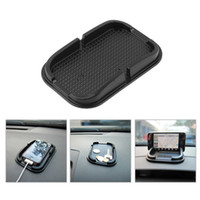 Wholesale shipping pda phone for sale - Group buy Rubber Anti slip Mat Car Dashboard Non slip Mat Magic Sticky Pad with Phone holder for iPhone Samsung Mobile Phone PDA MP4