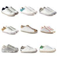 WeißSilber Golden Goose Damen Starter Kalb Leder Sneakers