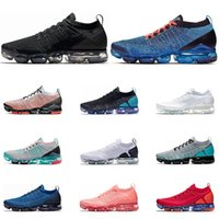Wholesale womens summer flat shoes for sale - Group buy Running shoes men Plus black white south beach Blue Fury Gym Hot Punch womens Breathable sport sneaker size
