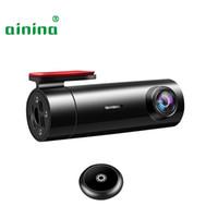 Wholesale car remote dvr resale online - WiFi Mini Car Dash Cam FHD1080p Degree Wide And Supercapacitors Camera Recorder dvr with remote snapshot