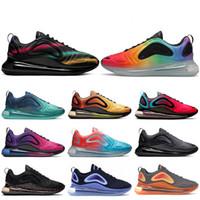 nouvelles chaussures femme chine achat en gros de-Nike air max 720 Hommes Chaussures BE TRUE  Night Chaussures De Course Nouvelle Arrivée La Chine Exploration De L'espace Triple black Lever Du Soleil Femmes Été des chaussures