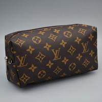 vente de portefeuille achat en gros de-Gros femmes dame designer portefeuilles sacs à main de luxe sacs à main célèbre lettre lettre portefeuille marque bourse sacs à cosmétiques sacs vente chaude